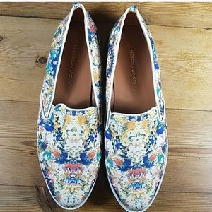 Rebecca Minkoff Canvas Floral Slip-on Sneakers